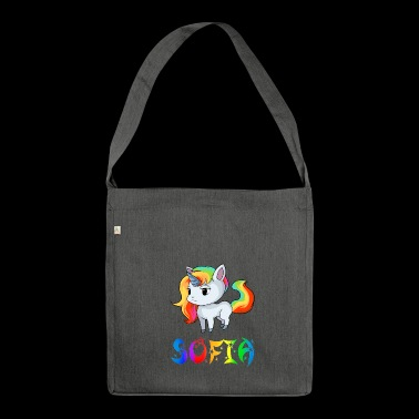 Unicorn Sofia - Shoulder Bag made from recycled material