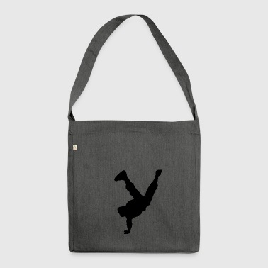 Breakdance - Schultertasche aus Recycling-Material