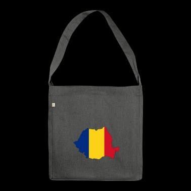Romania - Romania - Country - Shoulder Bag made from recycled material