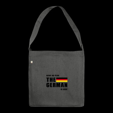 The German - Shoulder Bag made from recycled material