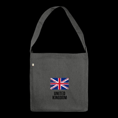 United Kingdom - Union Jack - Shoulder Bag made from recycled material