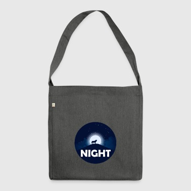 NIGHT - Shoulder Bag made from recycled material