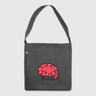 Brainy - Schultertasche aus Recycling-Material
