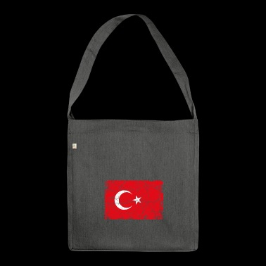 Turkey Turkish flag - Shoulder Bag made from recycled material