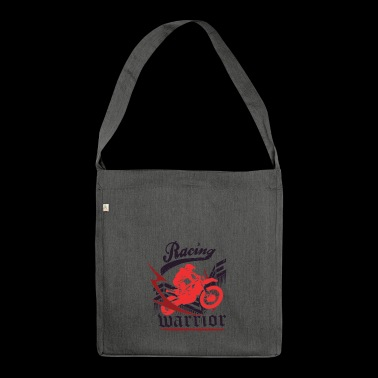 RACING WARRIOR - Schultertasche aus Recycling-Material