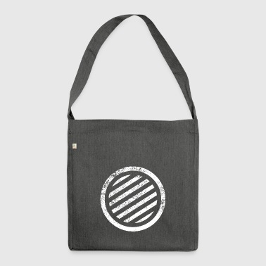 CIRCLES CIRCLES GRUNGE - Shoulder Bag made from recycled material