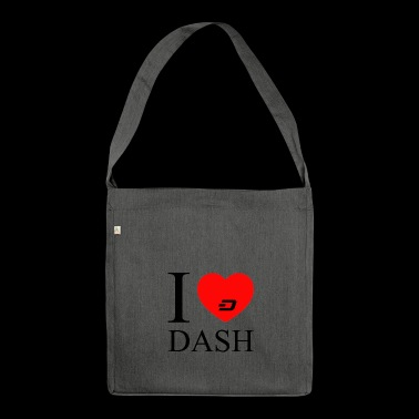 dash black - Shoulder Bag made from recycled material