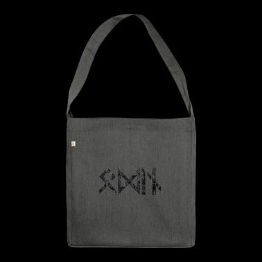 Odin Walhalla Norse mythology gift idea - Shoulder Bag made from recycled material