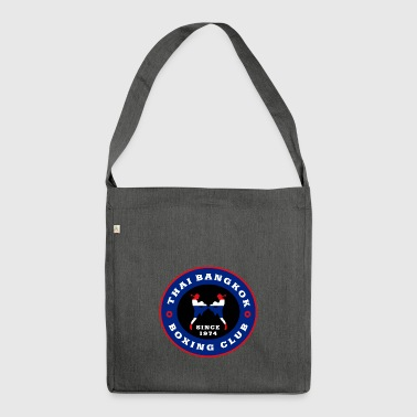 Thai Bangkok Boxing Club - Shoulder Bag made from recycled material