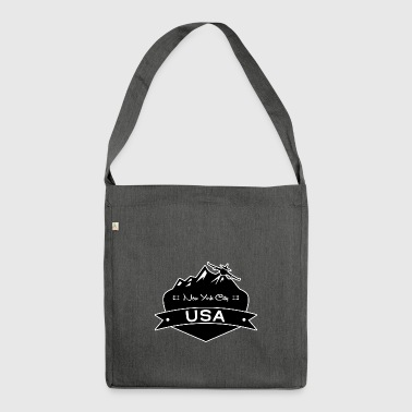New York City USA - Shoulder Bag made from recycled material
