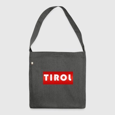 Tyrol - Shoulder Bag made from recycled material