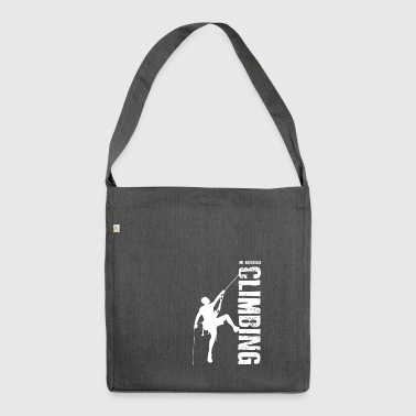 Mr Adrenaline Rock Climbing - Shoulder Bag made from recycled material