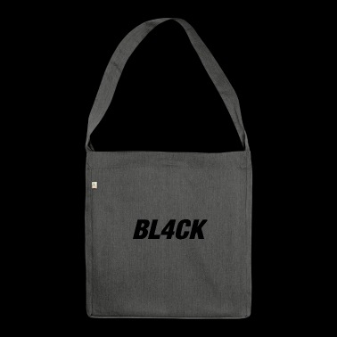 Black HipHop - Schultertasche aus Recycling-Material