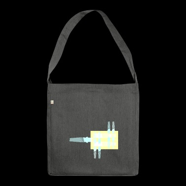 implant - Shoulder Bag made from recycled material
