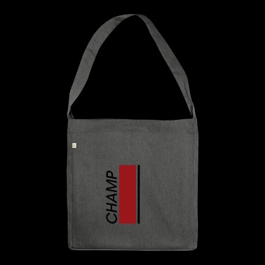 CHAMP modern, stylish Design - Schultertasche aus Recycling-Material
