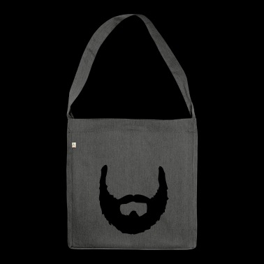 Beard ☆ beards ☆ bearded ☆ hairy - Shoulder Bag made from recycled material