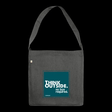 Think Outside - Shoulder Bag made from recycled material