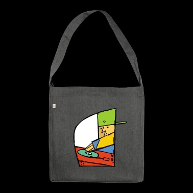 Deejay (V2) - Schultertasche aus Recycling-Material