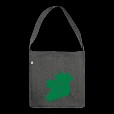 Cork st patrick's day - Shoulder Bag made from recycled material