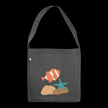 under water - Shoulder Bag made from recycled material