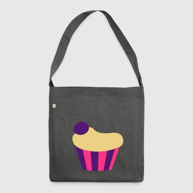 Cupcake - Shoulder Bag made from recycled material