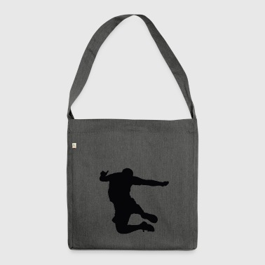high jump jumping high jump jump ballerina24 - Shoulder Bag made from recycled material