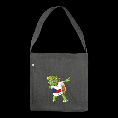 Czech Republic Dabbing turtle - Shoulder Bag made from recycled material