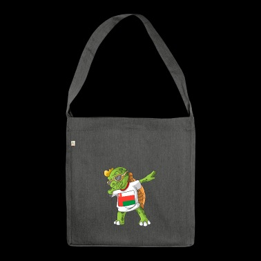 Oman Dabbing turtle - Shoulder Bag made from recycled material