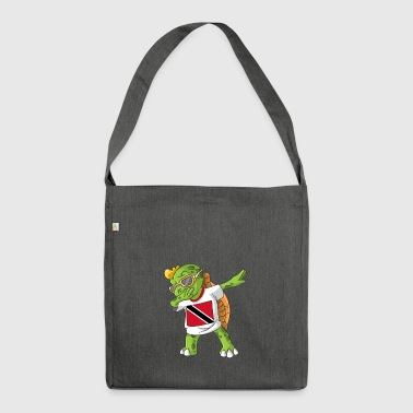 Trinidad and Tobago Dabbing turtle - Shoulder Bag made from recycled material