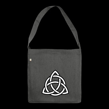 Celtic knots - Celtic symbol - Shoulder Bag made from recycled material