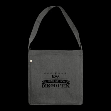 birthday goettin Eva - Shoulder Bag made from recycled material