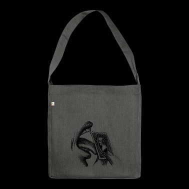 Stamp - Shoulder Bag made from recycled material