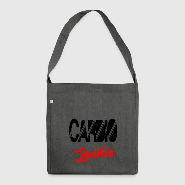 cardio junkie - Shoulder Bag made from recycled material