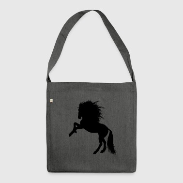Horse, foal, mare, stallion, - Shoulder Bag made from recycled material
