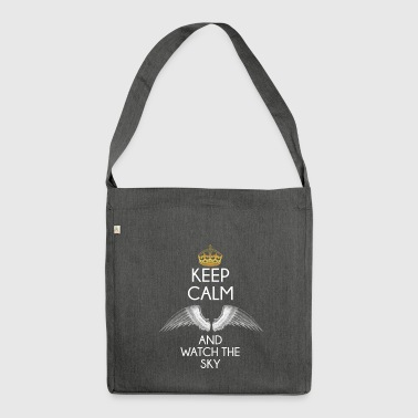 Keep Calm - Shoulder Bag made from recycled material