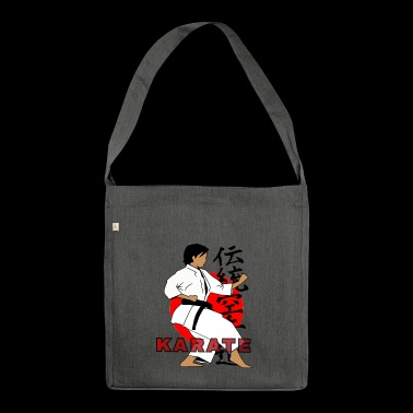 TRADITIONAL KARATE - Shoulder Bag made from recycled material