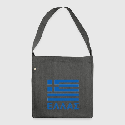 Greece - Shoulder Bag made from recycled material