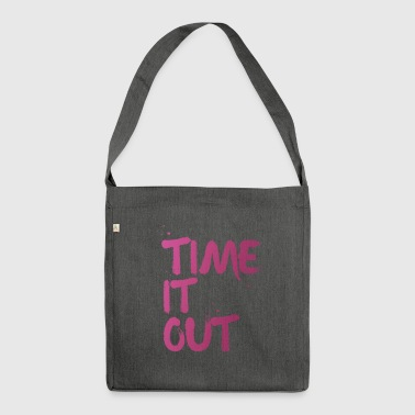 Time it out - Sac bandoulière 100 % recyclé