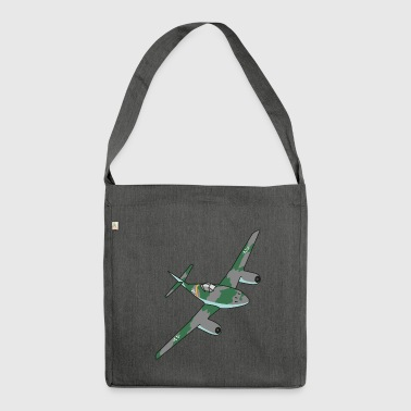Me262 Fighter Jet - Shoulder Bag made from recycled material