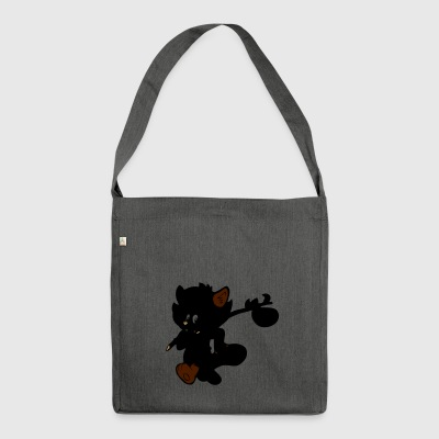 raccoon - Shoulder Bag made from recycled material