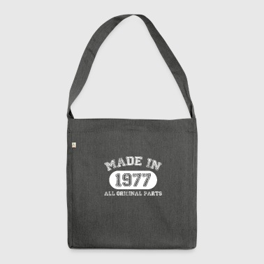 MadeIn 1977 - Shoulder Bag made from recycled material