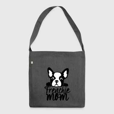Frenchie mamma French Bulldog - Borsa in materiale riciclato