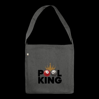 Pool King - Schultertasche aus Recycling-Material