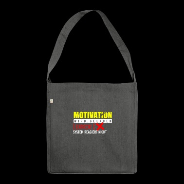 Motivation gift idea idea computer science - Shoulder Bag made from recycled material