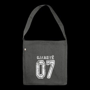Gjakove 07 Gjakova Albania Kosovo gift design - Shoulder Bag made from recycled material