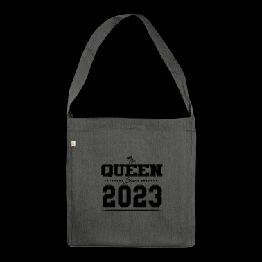His Queen since Partner couple Valentine's Day 2023 - Shoulder Bag made from recycled material