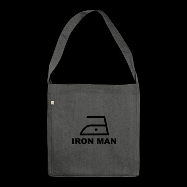 Ferro Iron man hausmann - Borsa in materiale riciclato