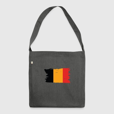 Belgium flag - Shoulder Bag made from recycled material