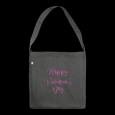 Valentine's Day Gift - Valentines Day - Shoulder Bag made from recycled material