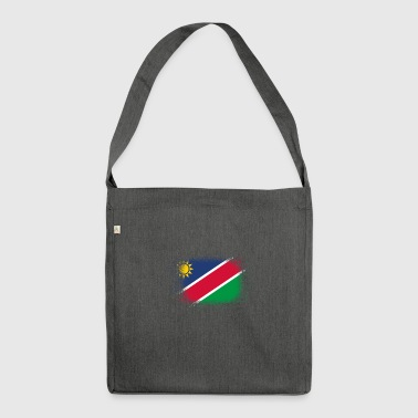 Spray logo klaue flagge home Namibia png - Schultertasche aus Recycling-Material